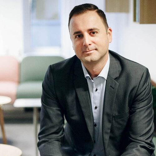Kemal Basic CEO Softhouse Småland Växjö